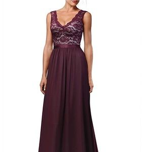 Wine/Maroon Formal Dress